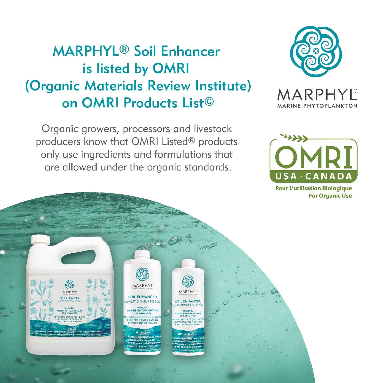 MARPHYL Organic Soil Enhancer, OMRI Listed