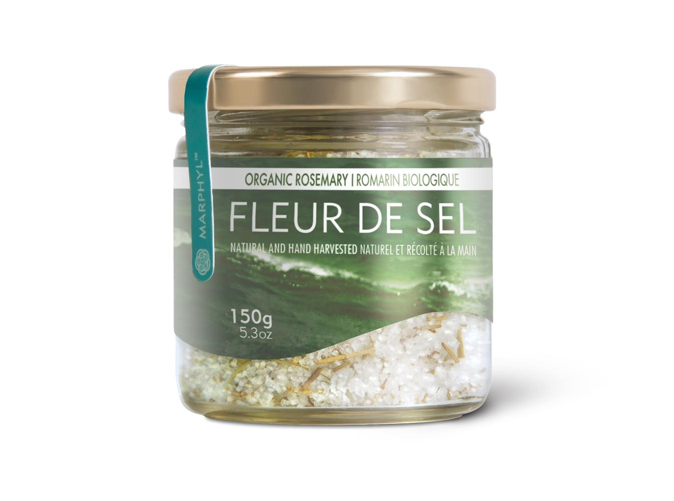 Marphyl Marine Phytoplankton Natural Sea Salt 150g 5.3oz Organic Rosemary