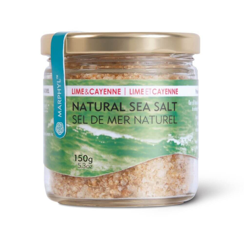 Marphyl Marine Phytoplankton Natural Multi-species Natural Sea Salt 150g 5.3oz Flavour Lime and Cayenne Beauty Shot