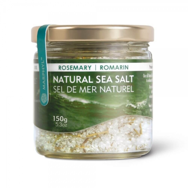 Marphyl Marine Phytoplankton Natural Multi-species Natural Sea Salt 150g 5.3oz Flavour Rosemary Beauty Shot
