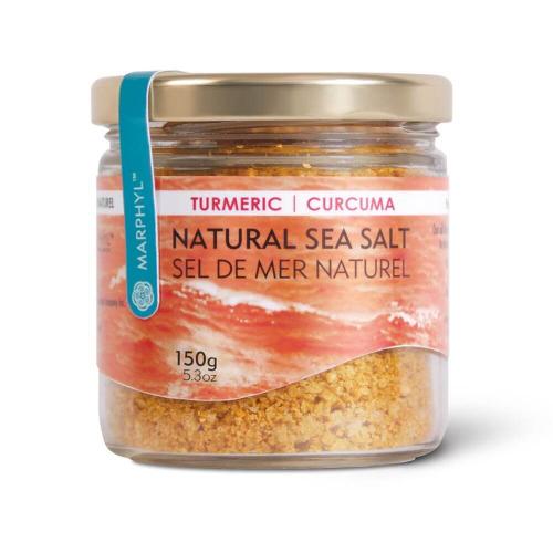 Marphyl Marine Phytoplankton Natural Multi-species Natural Sea Salt 150g 5.3oz Flavour turmeric Beauty Shot