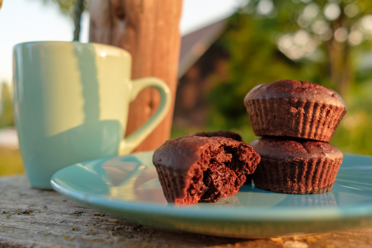CHOCOLATE - COCONUT - SEA SALT SIMPLE VEGAN CUPCAKES